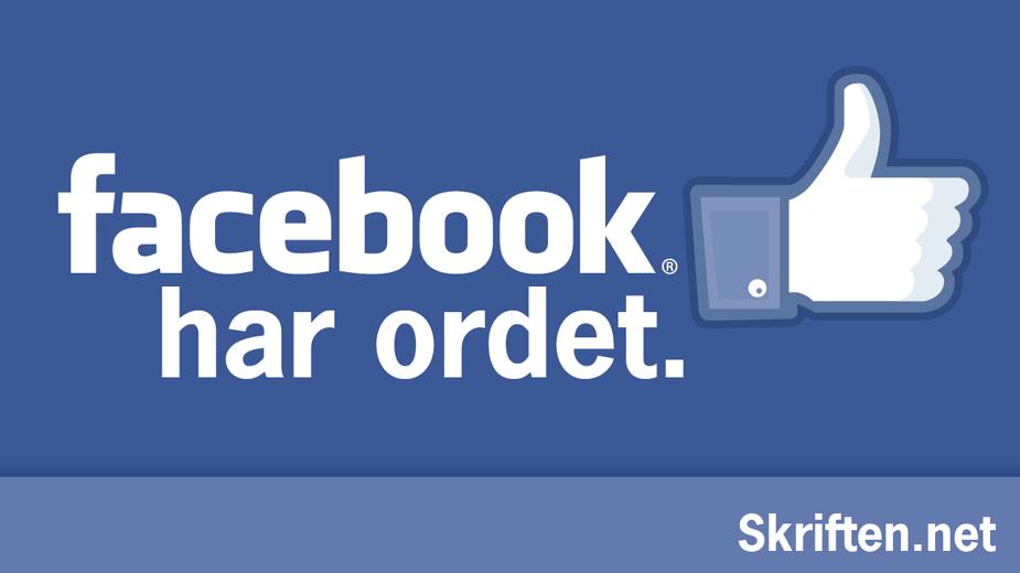 Facebook har ordet2