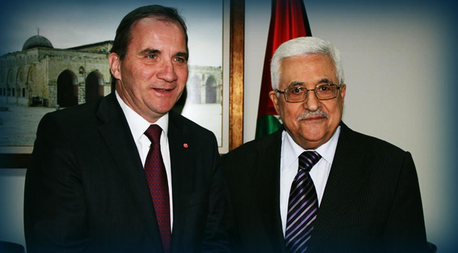 Stefan Lofven lovede i 2012, Mahmoud Abbas at Sverige ville anerkende en palæstinensisk stat