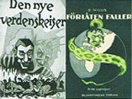 Det antijødiske skrift udkom første gang på russisk i 1903, men blev hurtigt spredt til andre lande. Den norske udgave (tv) er fra 1920, den svenske fra 1924.