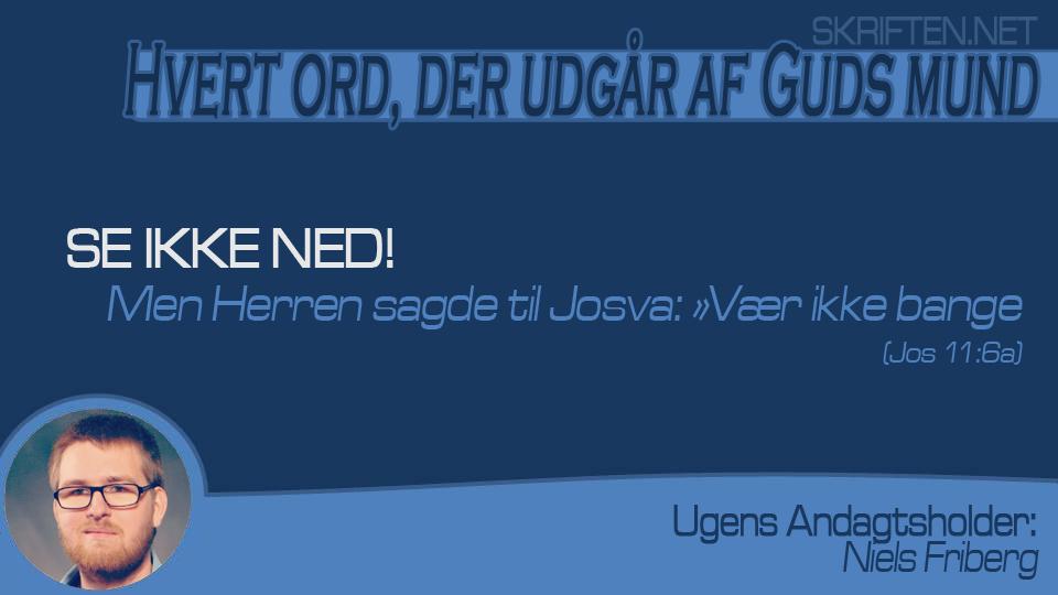 andagt Niels 26,04,15