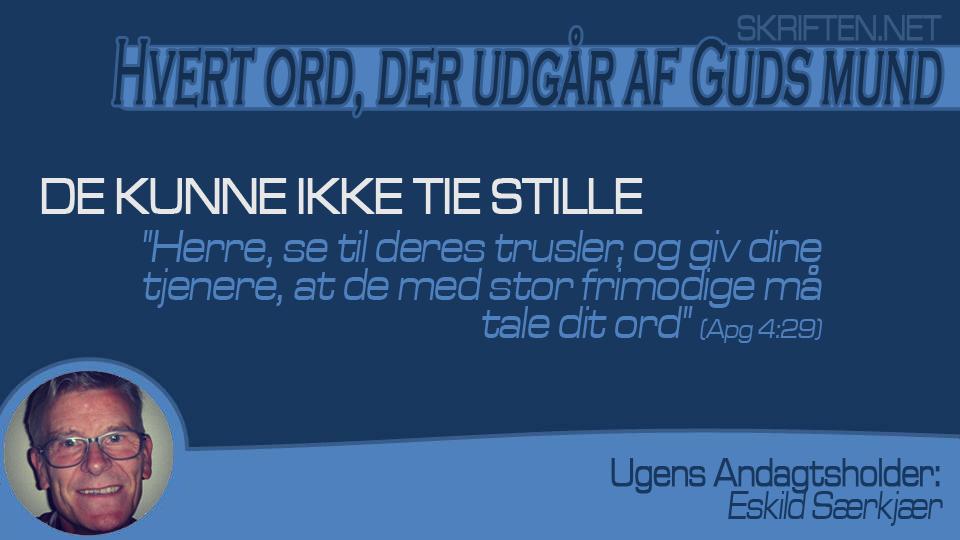 andagt Eskild 19,06,15