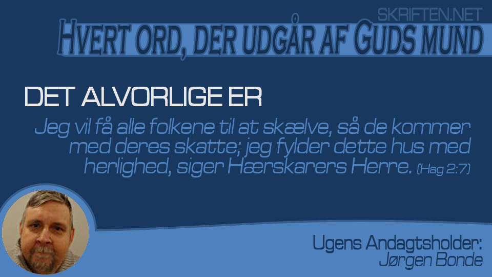 andagt Jørgen 13,11,15