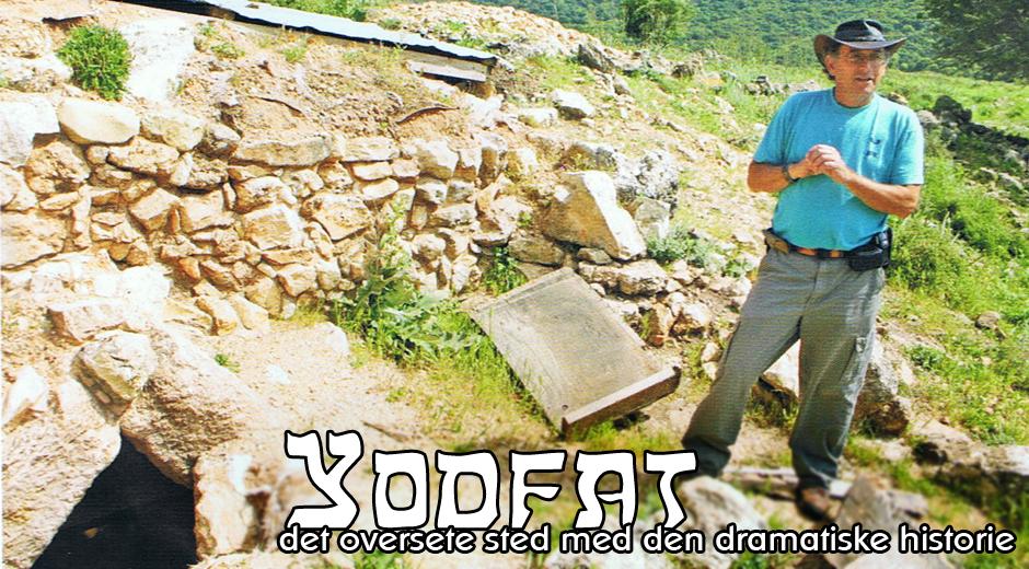 Arkæologen Mordechai Aviam ledte udgravningerne af Jotapata. (Foto: Morten Hørning Jensen)