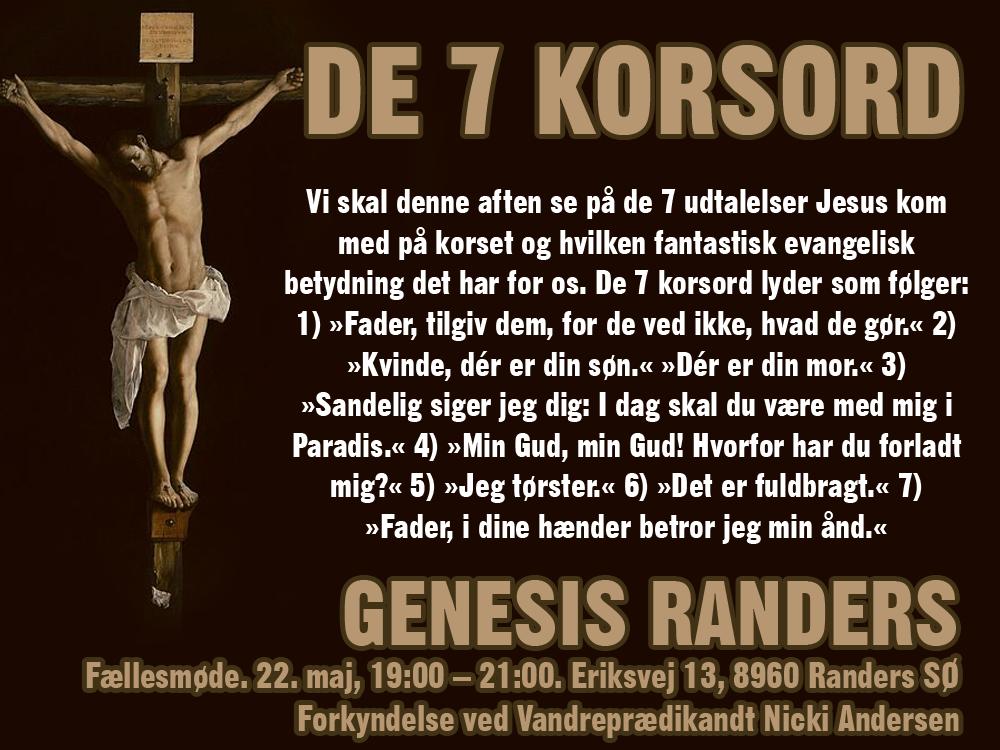 DE 7 KORSORD @  - Genesis Randers | Randers | Danmark